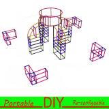 Изготовленный на заказ системы выставки Eco содружественные масштабируемые гибкие портативные модульные DIY