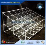 引出し及びボックスを持つ卸し売りアクリルの構成のオルガナイザー