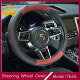 Buena cubierta de cuero material del volante del coche del nuevo diseño