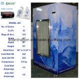 Expendidora automática de enfriamiento DC-420 del hielo del ventilador con la capacidad 42cu. Pie