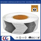 PVC 흑백 도로 안전 화살 사려깊은 테이프 (C3500-AW)