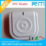 Dispositivo TCP/IP+WiFi del lector de tarjetas del control de acceso 13.56MHz RFID NFC
