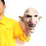 Máscara da borracha da cabeça de cavalo da máscara de Halloween Cosplay