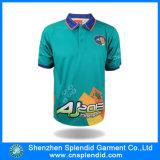 De T-shirt van het Polo van de Kleur van het Af:drukken van het Embleem van de Douane van Manufactory voor Mensen