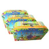 La mini aduana del juguete embroma los rectángulos al por mayor de la maleta del papel de la cartulina