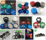 China Top Manufacturer Metal Handle Zinc Grinders für Tobacco Smoking, Best Quality Aluminum 100mm Herb Grinders