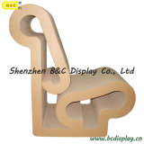 SGS (B&C-F011)를 가진 도매 서류상 의자/마분지 발판/마분지 가구