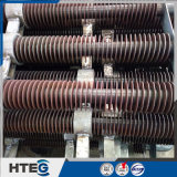 Câmaras de ar de aleta da espiral do aço de carbono para o preaquecedor, calefator, refrigerador