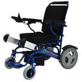 Fauteuil roulant en aluminium se pliant de fauteuil roulant de plage