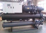 Refrigerador de agua refrigerado por agua industrial para el tornillo
