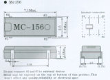 Dünnes SMD niedriger/Mittelfrequenzkristalldes geräten-Mc-146/156 Quarzoszillator