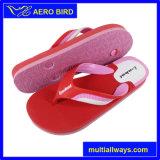 Los niños del color del doble Sole PE Flip Flop niños Zapatillas