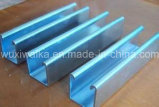 Canal de acero Pre-Galvanizado Q235B de la alta calidad de acero del ángulo