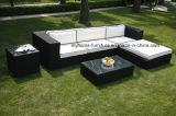 Jardim Mobiliário Outdoor Sofá Set PE Rattan Móveis Jardim Sofá
