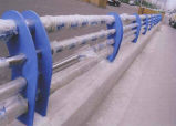 Tubo de acero inoxidable de los pasamanos 304 del puente