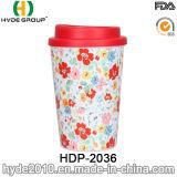 [350مل] جدار مزدوجة يطبع فنجان لأنّ قهوة ([هدب-2036])