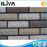 Brique mince en pierre cultivée artificielle de la colle blanche d'isolation saine pour le mur Yld-12010