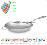 5ply Askew Body Copper Core Frypan