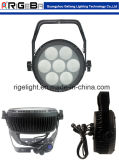 One IP65 LED PAR軽い7*25W High Power Aluminum Flat LED PAR Lightの段階Light Light Razor P7 Rgbwy 5