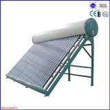 2016 comprimir não o calefator de água quente solar do aço inoxidável da pressão