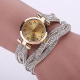 Ново приезжает роскошный Wristwatch вахты кварца вахты женщин браслета Rhinestone