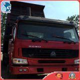 10wheel LKW verwendeter HOWO Kipper, Sinotruck Lastkraftwagen- mit Kippvorrichtungverkauf in Ghana