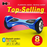 Auto 2016 Balancing Water Scooter 2 Wheel Hoverboard con Bluetooth Electric Scooter New Products