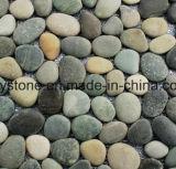 Qualität farbige Fluss-Stein-Fliese