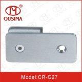 Braçadeira de vidro quadrada da fixação do quarto de chuveiro (CR-G25)