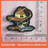 Remendo amigável do PVC do costume 3D 2D de Eco da venda da fábrica