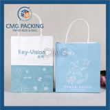 Sac blanc de traitement de papier d'emballage (DM-GPBB-047)