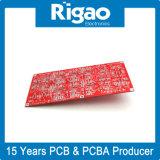 De grote Raad van PCB van de Grootte Stijve met het Rode Masker van het Soldeersel