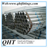 Forme de la section ronde BS1387 Pre-Galvanized Steel Pipe Price Per Ton