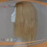 Perruque de femmes attachée par main bon marché de cheveux humains de prix usine de qualité