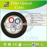 Cable óptico de la fibra de GYFTY