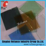 4-8mm濃紺または湖の青い/Bronze /Dark緑の染められたガラス