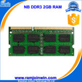 Ett откалывает RAM компьтер-книжки DDR3 2GB 1333MHz