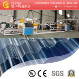 Maquinaria plástica elegante relativa à promoção da produção da extrusão da telha de telhado do PVC