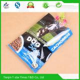 Rückseite zusammengesetzter Nahrung- für HaustiereKunststoffgehäuse-Siegelbeutel