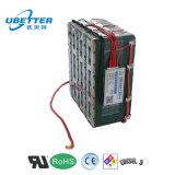 Personnalisé 24 batteries électriques 20ah de scooter d'ion rechargeable de lithium de volt