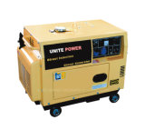 gerador Home portátil Diesel do uso do jogo de gerador 5kVA (UE6500T)