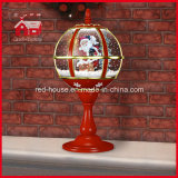 サンタクロースとのレースDecoration Red Festival Tabletop Lamp