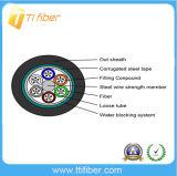 Tipo de acero cable óptico acorazado de fibra (GYTS)