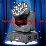 Controle RGBW novo do som que move a luz da parede do diodo emissor de luz