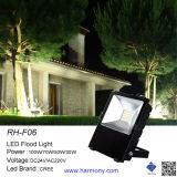 防水IP65 Bridgeluxリモート・コントロール50W RGB LEDの洪水ライト