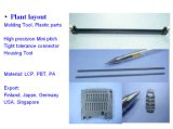 プラスチック型/プラスチック型/プラスチック注入の部品