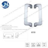 304 acero inoxidable Baño puerta en forma de L Manija (A10)