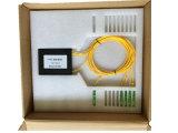 Productor verdadero del rectángulo 1*4 del ABS con el divisor del PLC del conector de Sc/APC