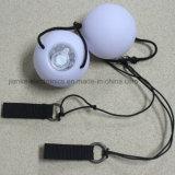 ロゴの印刷(3560)を用いるカスタム点滅LEDのダンスPoiの球