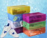 Caixa plástica de China para sapatas (caixa de sapata do PVC)